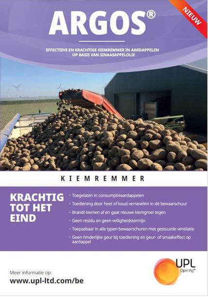 Brochure kiemremmer ARGOS in aardappelen beschikbaar